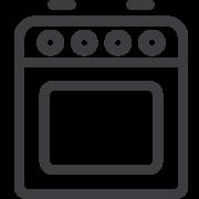 cucina di servizio in comune